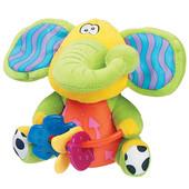 Игрушка с прорезывателями 'Слоненок' Playgro 0111867 Австралия 1214923