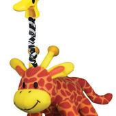 Игрушка-подвеска 'Качающийся Жираф' Playgro 0111280 Австралия оранжевый 1213570