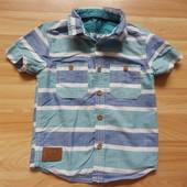 Фирменная рубашка Rebel  малышу 1,5-2 года состояние отличное