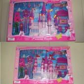 Замок HYL332 с мебелью,куклами муз.свет. 2в.кор.57*39,3*10,3