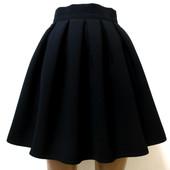 Школьные юбочки от производителя. Размеры 32-48 . чёрный и тёмно-синий.