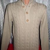 Теплющий фирменный свитер Onfire р. М 48-50 Бангладеш. Новый.