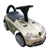 New! Машинка-каталка Bambi M 3189s-13 Mercedes-benz золотистый (eva колеса)