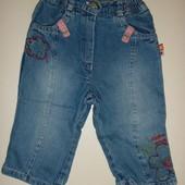 джинсы на х.б подкладке на 4-8 мес