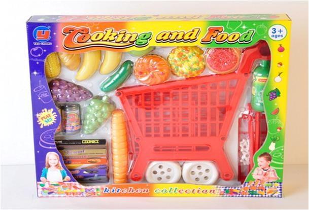 Тележка 035 с продуктами фото №1