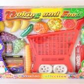 Тележка 035 с продуктами