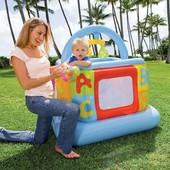 Детский надувной манеж Intex 48473-1bs