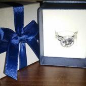 Кольцо Swarovski crystal 19