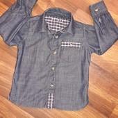 Рубашка Nutmeg на 2-3 года.