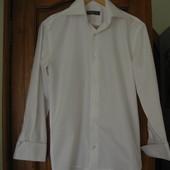 Мужская рубашка,отличное качество, ворот 39 см.