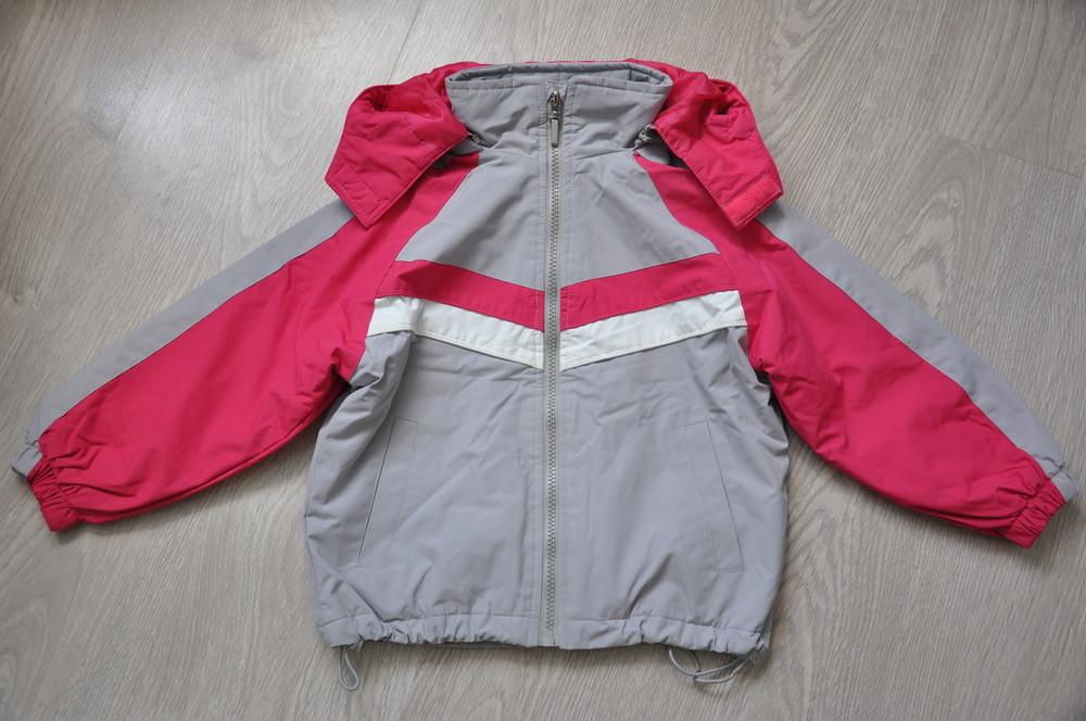 Демісезонна курточка, р.98. фото №2