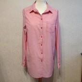 Рубашка H&M женская,р.L,хлопок