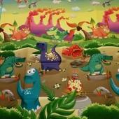 Коврик детский игровой бебипол аналог