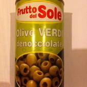 Оливки без косточек Frutto Del Sole 360гр. (Италия)