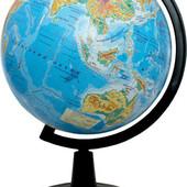 Глобус географический, диаметр 260 мм.