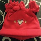 Флисовая шапка для девочки