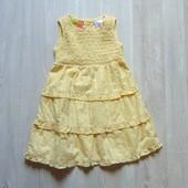 Шикарное нежное платье для девочки. Цвет желтый. Penelope. Размер 2 года. Состояние: новой вещи