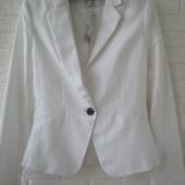 Новый белый пиджак H&M, оригинал
