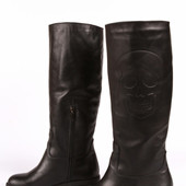 Новинка! женские кожаные сапоги деми/зима Модель : Ф 0105