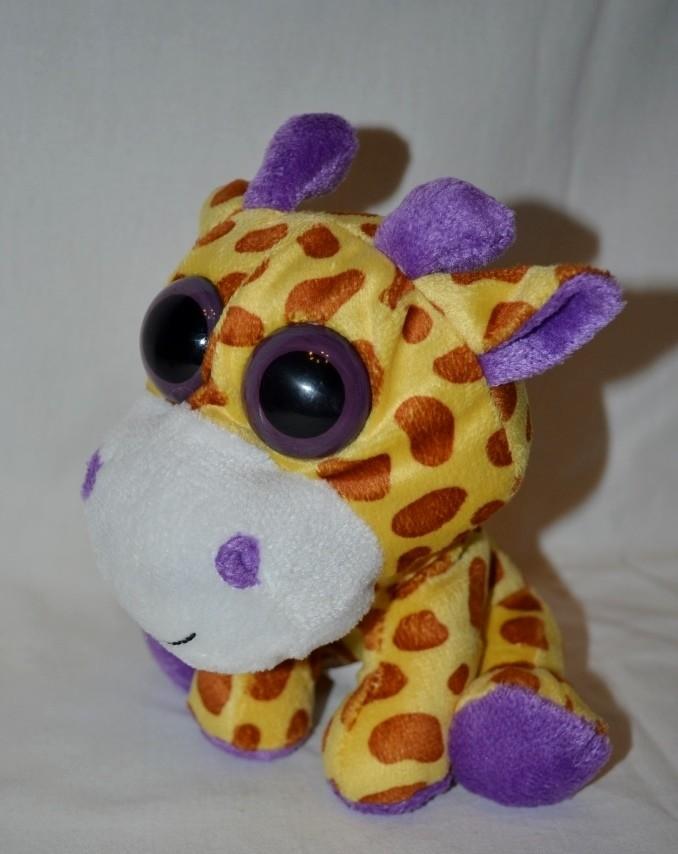 Мягкая плюшевая игрушка глазастик лупастик жираф фото №1