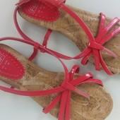 Новые сандалии вьетнамки F&F розового цвета