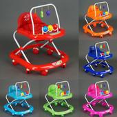 Ходунки JOY 992 6 цветов, проигрывает мелодии, d колес - 7см 60х50х65см
