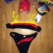 Подростковые спортивные купальники с топом Польша 4 цвета