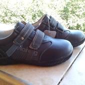 кожаные кроссовки,ботинки KLF р.32-37