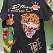 Фирменная футболка Ed Hаrdy. Оригинал. S