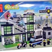 Конструктор Brick полицейский участок