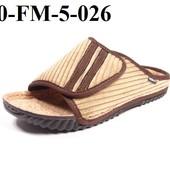 100-FM-5 Тапочки мужские домашние Inblu цвет - черный, бежевый, размеры 40-46