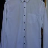 Светло-голубая рубашка L
