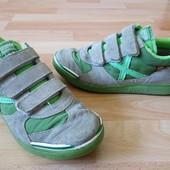 Туфли кроссовки р.33-34 (22см) замшевые туфли