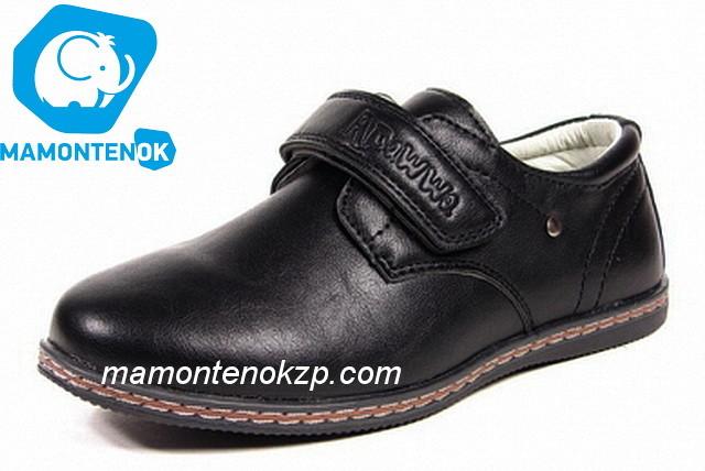 Детские туфли apawwa , р 31-36  a-157 черный фото №1