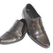 Туфли мужские, натуральная кожа!
