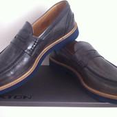 Шикарні шкіряні туфлі Італія