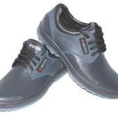 Скидка! 41 размер! Мужские кожаные туфли Ecco