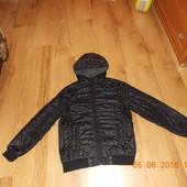 Стильная демисезонная куртка Carbini для мальчика 12-13 лет, 152-158 см