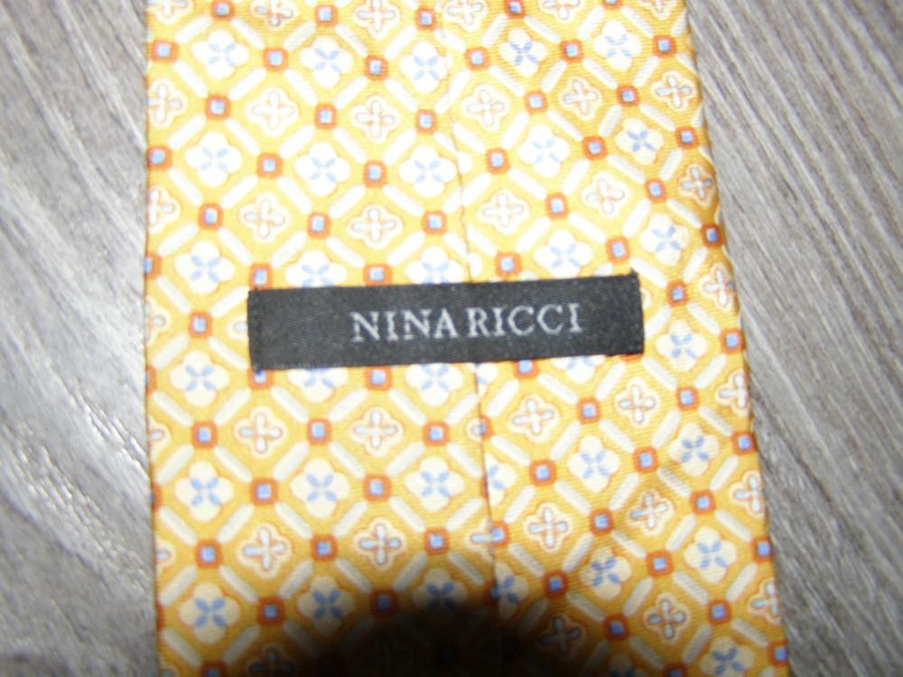 Галстук шелковый Nina Ricci оригинал фото №1
