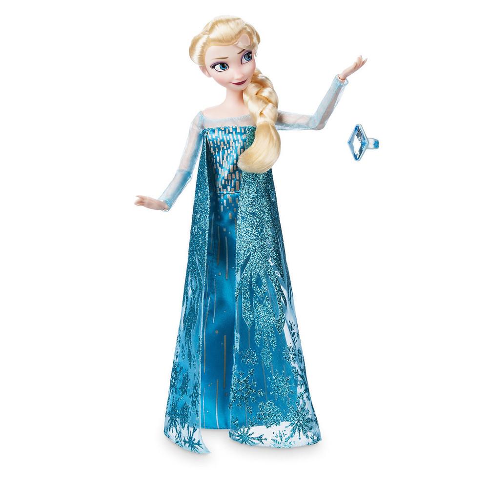 Кукла эльза с кольцом из мф «холодное сердце» дисней фото №1