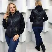 """Куртка """"Мех """" Размеры: 42, 44, 46 ,48-50, 50-52 (2с"""