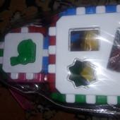 Куб 1+1 умный малыш(36элементов)