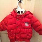 Бомбезна курточка для новонароджених,б/у