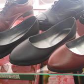 Кожаные балетки, 3 цвета, отличная цена!