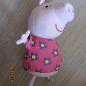 Пеппа пиг Peppa Pig 30см.Хрюкает
