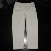 супер.стильные брюки I love Next 4 года (можно до 5) 100% коттон состояние новых
