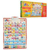 Интерактиавный плакат «Учим английский алфавит, счёт» ABCkids