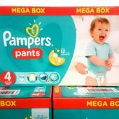 Подгузники-трусики Pampers (Памперс) Pants 4,5,6
