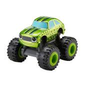 Машинка Nickelodeon Blaze (огурчик металлик) and the monster machines metallic rac