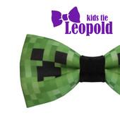 Бабочка -галстук с принтом Minecraft